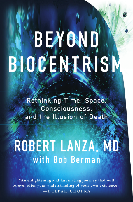 Image of Dr. Robert Lanza's Beyond Biocentrism Book Cover
